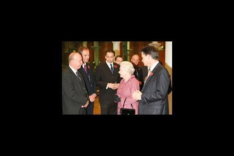 The Queen and David Tarbet